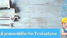 Esenyurt Akşemseddin Mahallesi Su Tesisatçısı-Tesisatçı 30 TL
