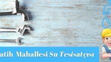 ✅Esenyurt Fatih Mahallesi Su Tesisatçısı-Tesisatçı 30 TL
